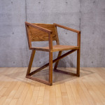 Japanese cedar chair