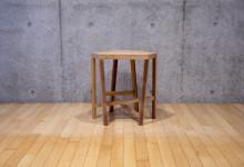 Japanese cedar stool