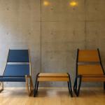 SLITTA Lounge chair & Ottoman